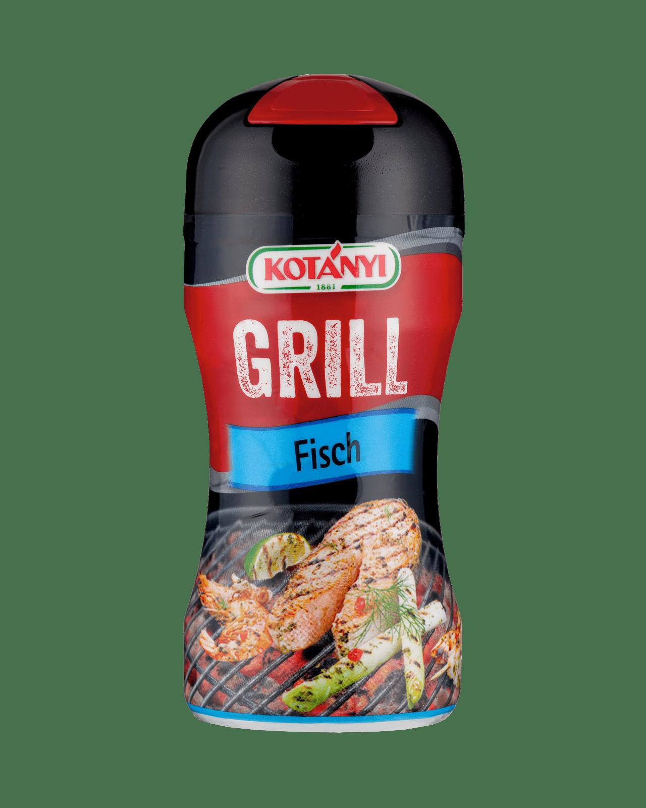 Kotányi Grill Fisch in der 80g Streudose