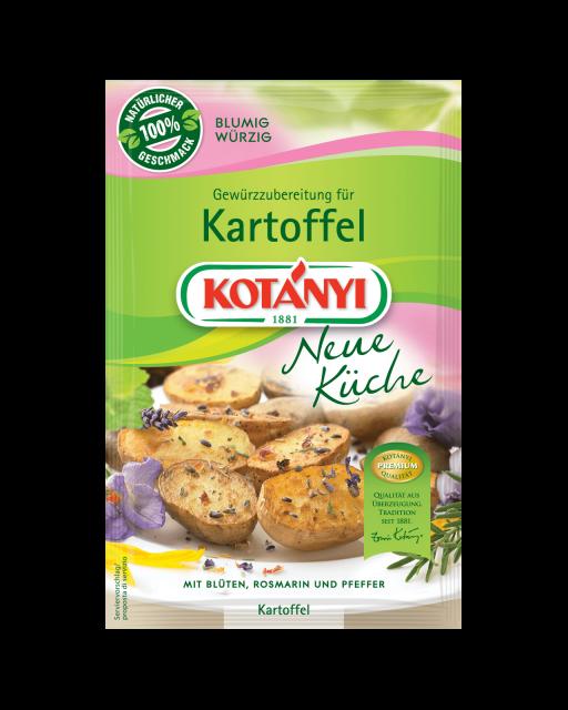 Kotányi Neue Küche Gewürzzubereitung für Kartoffel im Brief