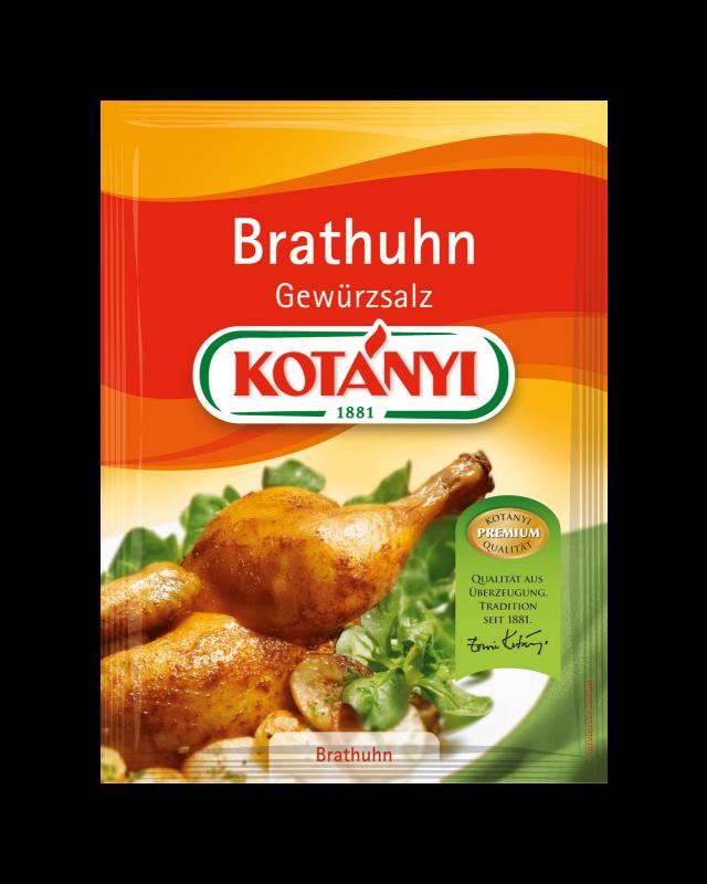 Kotányi Brathuhn Gewürzsalz im Brief