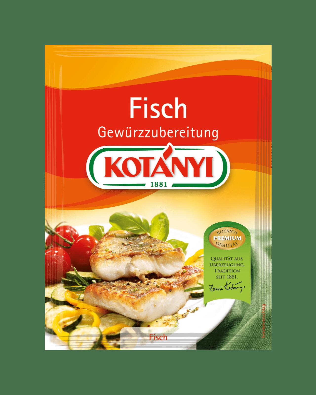 Kotányi Fisch Gewürzzubereitung im Brief