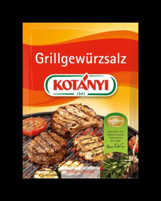 Kotányi Grillgewürzsalz im Brief