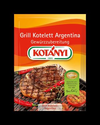 Kotányi Grill Kotelett Argentina Gewürzzubereitung im Brief