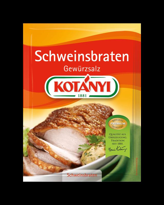 Kotányi Schweinsbraten Gewürzsalz im Brief