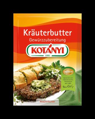 Kotányi Kräuterbutter Gewürzzubereitung im Brief