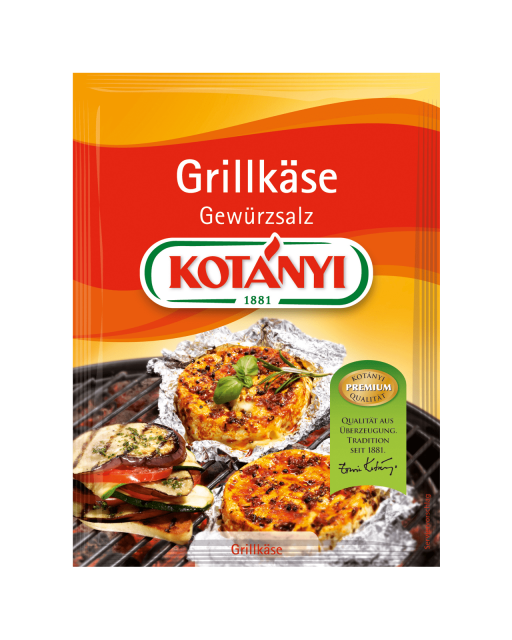 Kotányi Grillkäse Gewürsalz im Brief