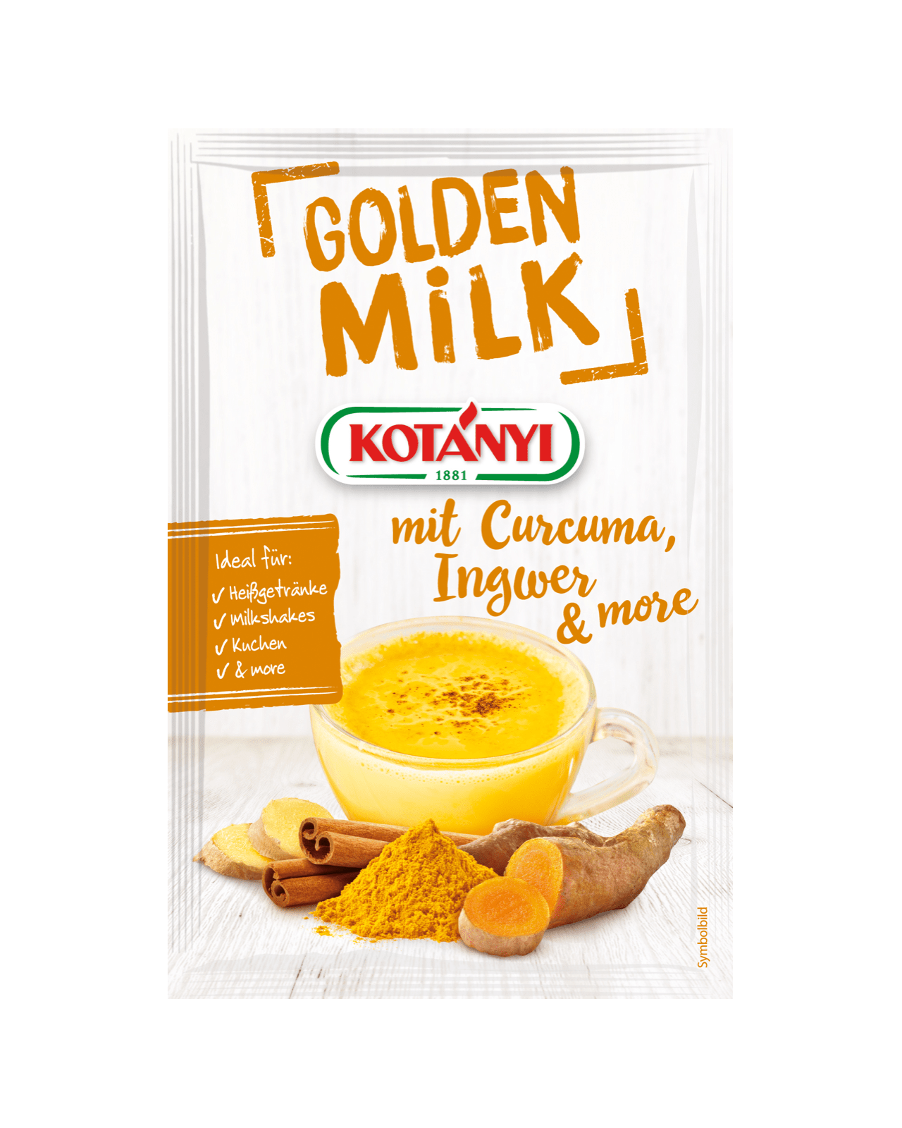 Kotányi Golden Milk im Brief