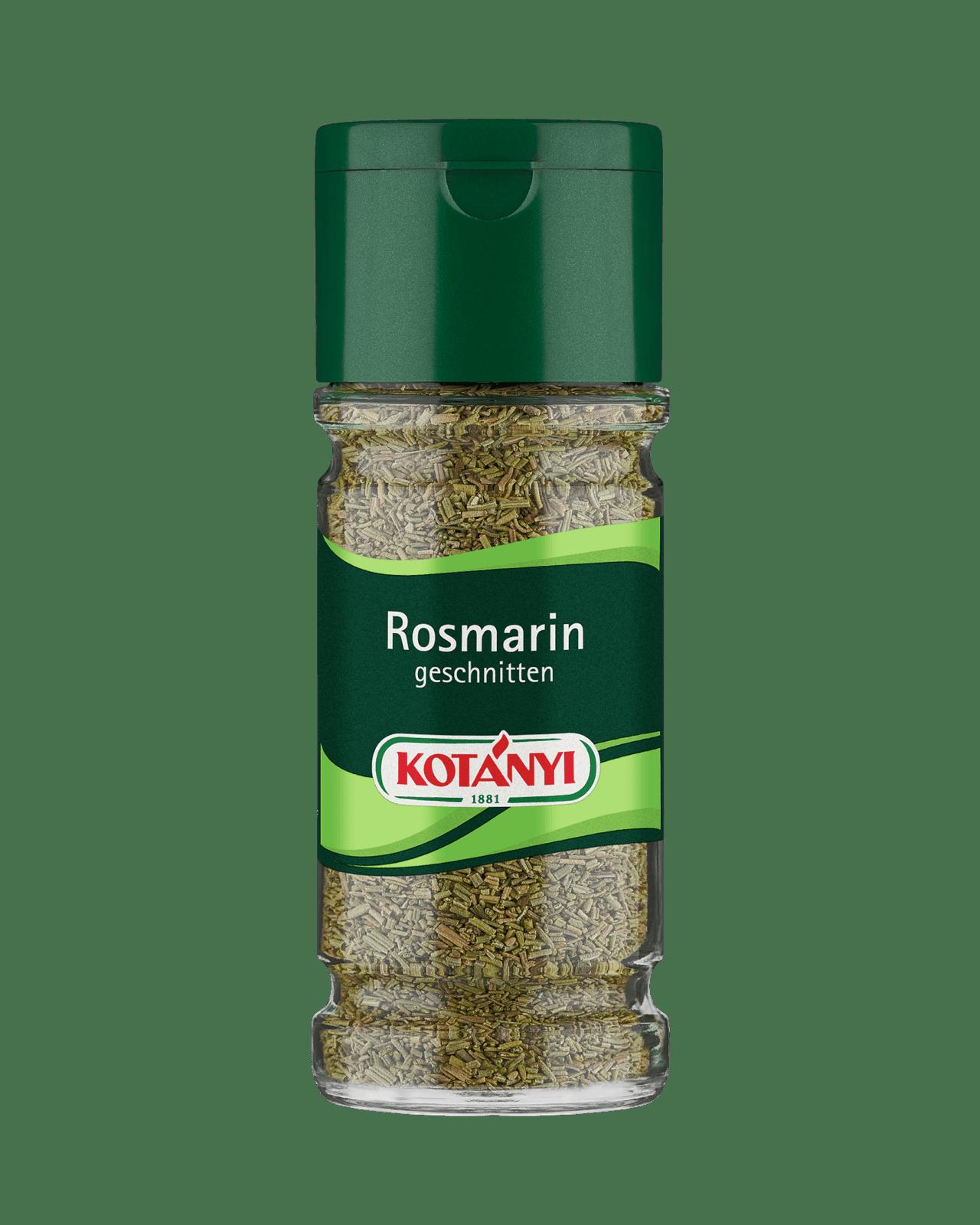 Kotányi Rosmarin geschnitten im 100ml Glas