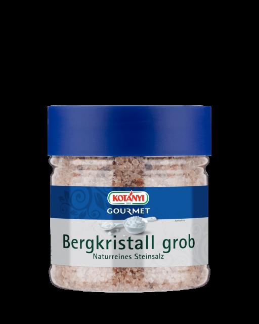 Kotányi Gourmet Bergkristallsalz grob in der 400ccm Dose