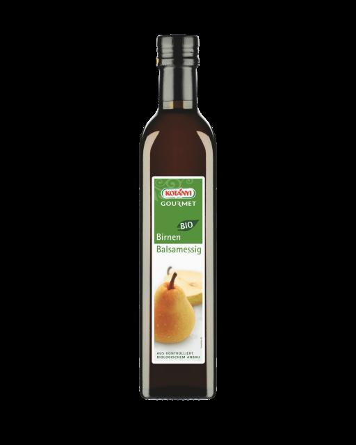 Kotányi Gourmet Bio Birnenessig in der 500ml Flasche