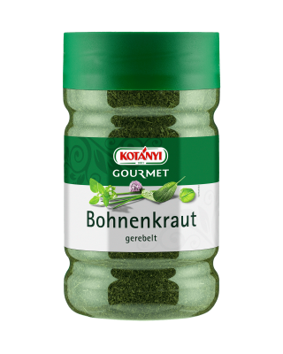 Kotányi Gourmet Bohnenkraut gerebelt in der 1200ccm Dose