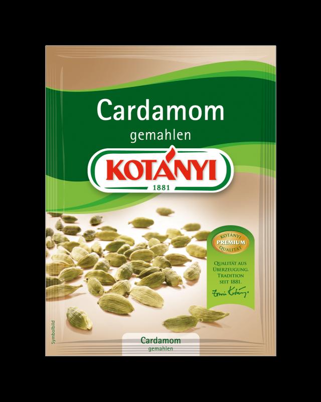 Kotányi Cardamom gemahlen im Brief