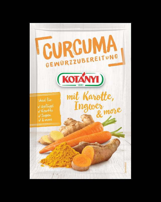 Kotányi Curcuma mit Karotte, Ingwer & More Gewürzzubereitung
