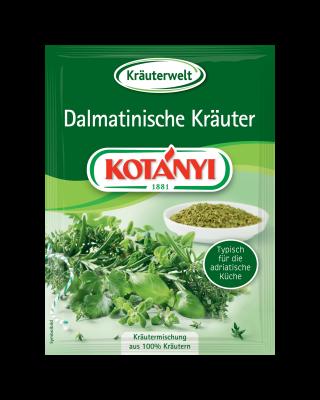 Kotányi Dalmatinische Kräuter im Brief