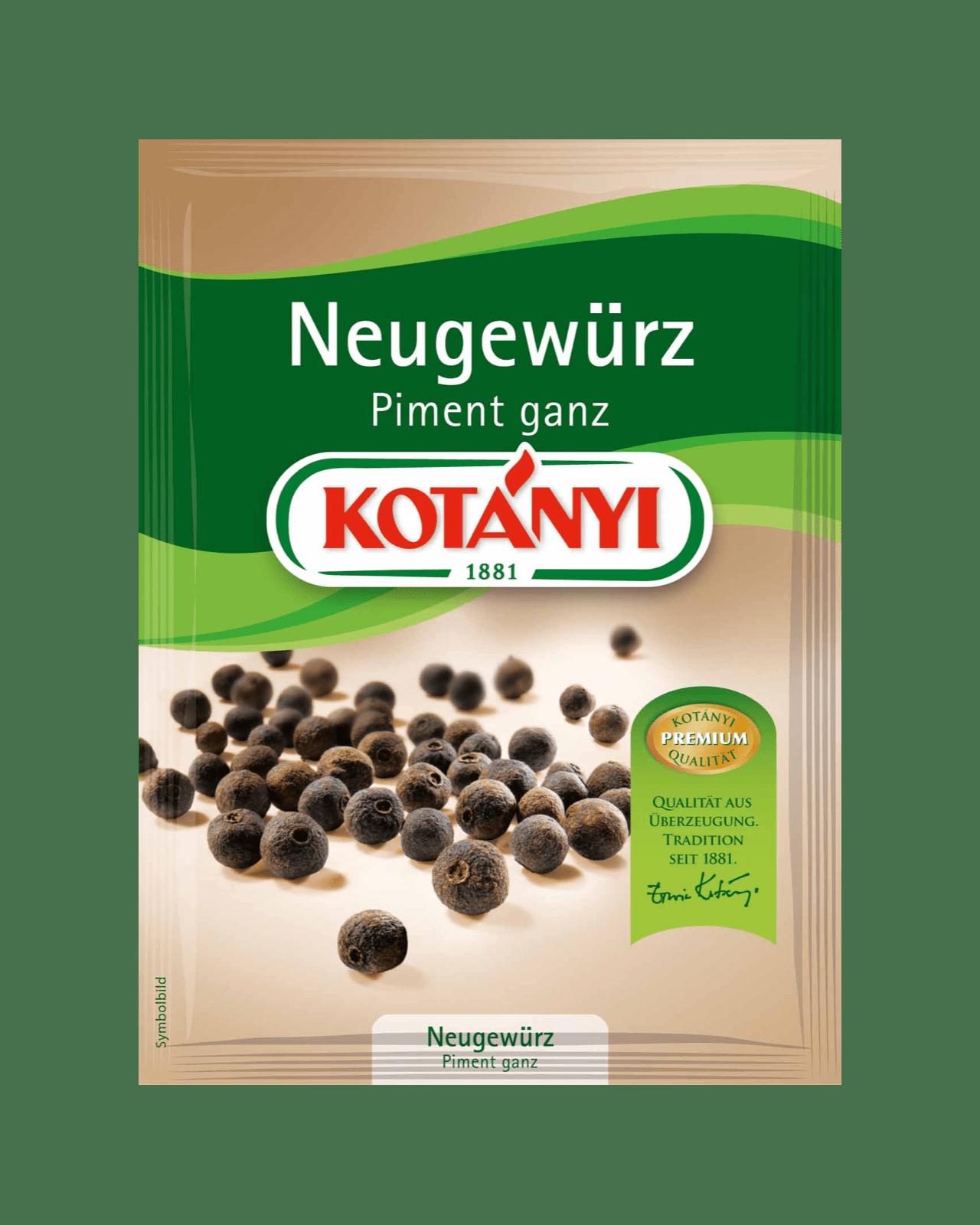 Kotányi Piment ganz im Brief