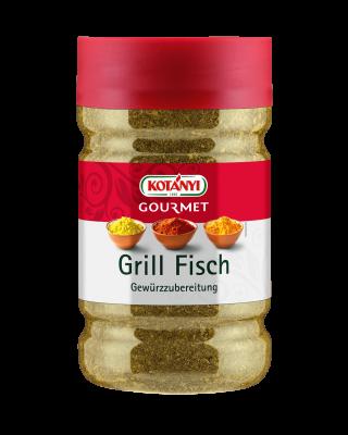 Kotányi Gourmet Grill Fisch Gewürzzubereitung in der 1200ccm Dose