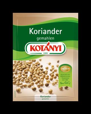 Kotányi Koriander gemahlen im Brief