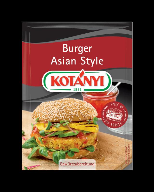 Kotányi Burger Asian Style im Brief