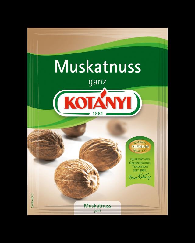 Kotányi Muskatnuss ganz im Brief