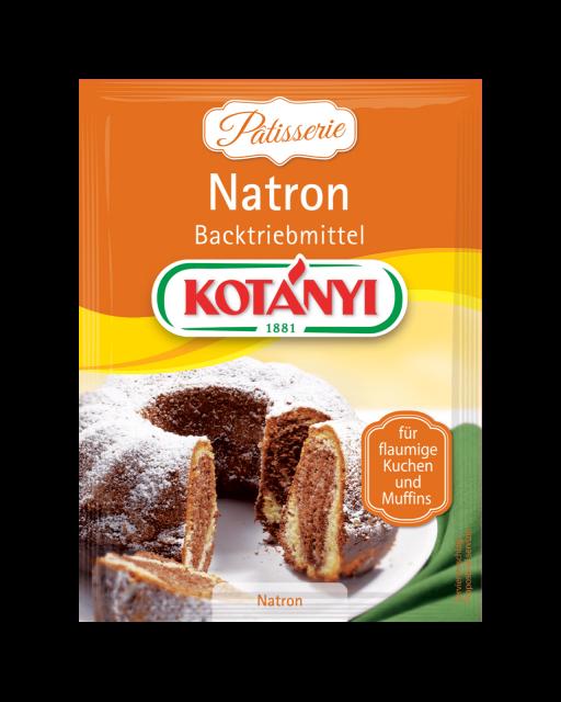 Kotányi Natron Backtriebmittel im Brief