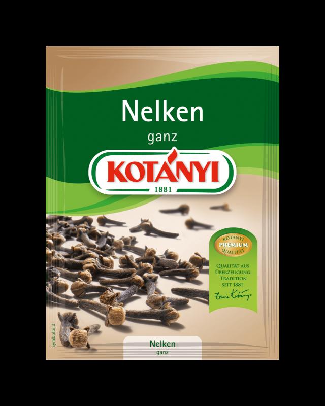 Kotányi Nelken ganz im Brief
