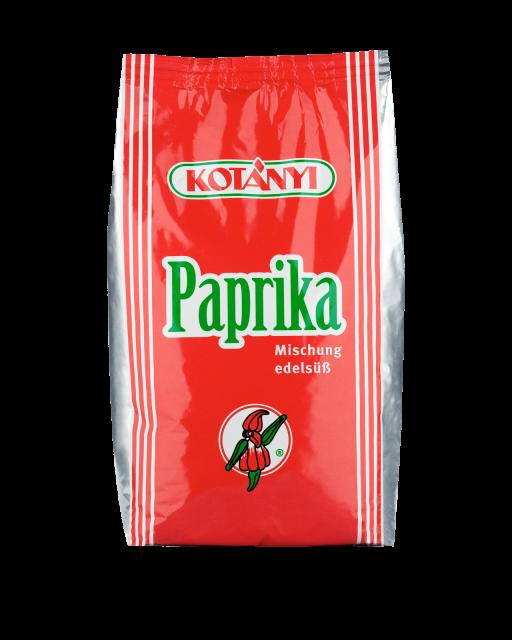 Kotányi Gourmet Paprika edelsüß Mischung im 1kg Beutel