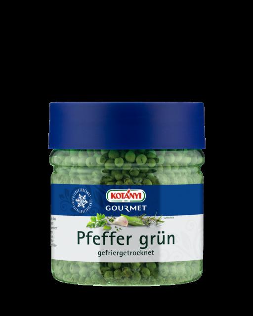 Kotányi Gourmet Pfeffer grün gefriergetrocknet in der 400ccm Dose