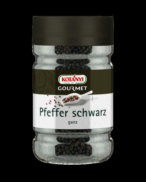 Kotányi Gourmet Pfeffer schwarz ganz in der 1200ccm Dose
