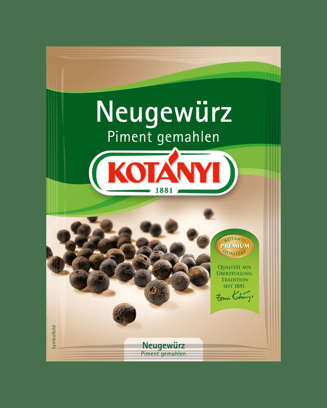 Kotányi Piment gemahlen im Brief