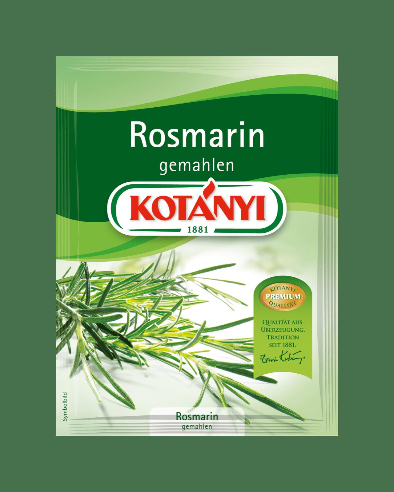Kotányi Rosmarin gemahlen im Brief