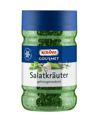 Kotányi Gourmet Salatkräuter gefriergetrocknet in der 1200ccm Dose
