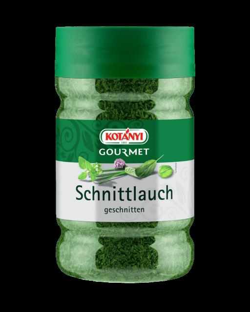 Kotányi Gourmet Schnittlauch geschnitten in der 1200ccm Dose