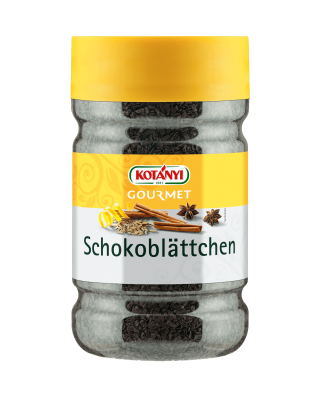 Kotányi Gourmet Schokoblättchen in der 1200ccm Dose