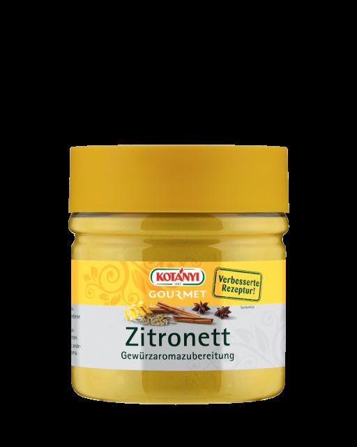 Kotányi Gourmet Zitronett Gewürzaromazubereitung in der 400ccm Dose