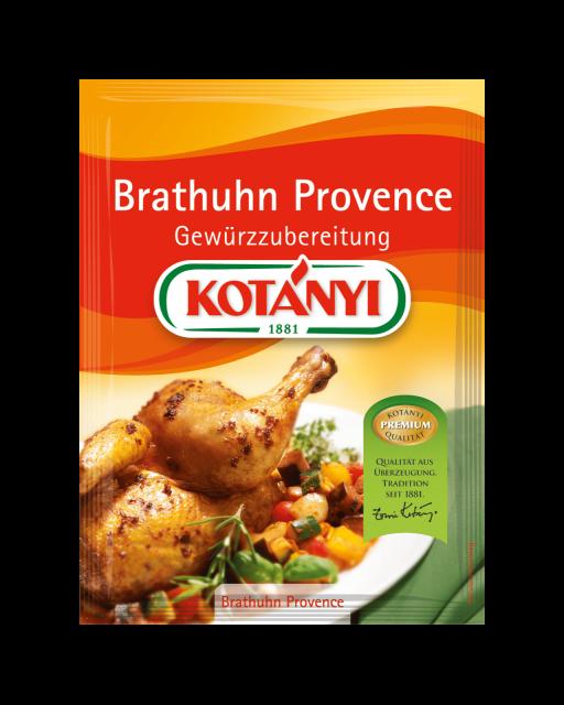 Kotányi Brathuhn Provence Gewürzzubereitung im Brief