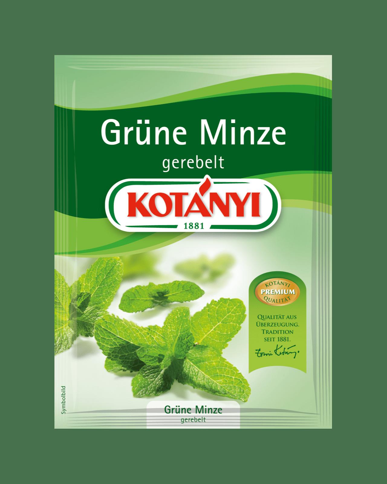 Kotányi Grüne Minze gerebelt im Brief