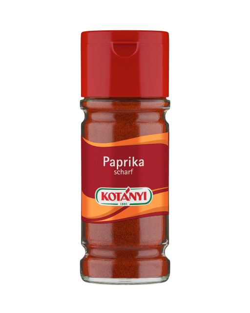 Kotányi Paprika scharf im 100ml Glas