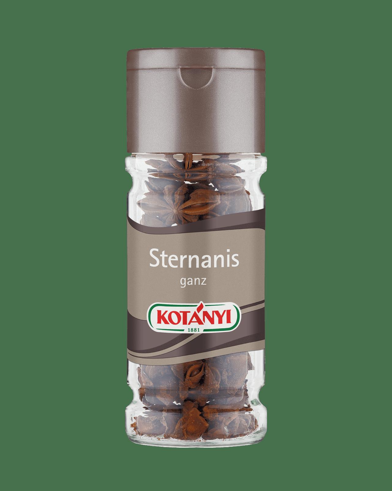 Kotányi Sternanis ganz im 225ml Glas