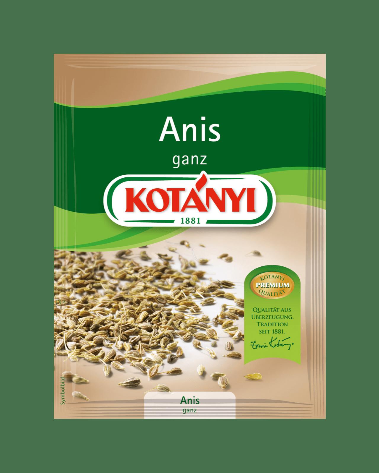 Kotányi Anis ganz im Brief