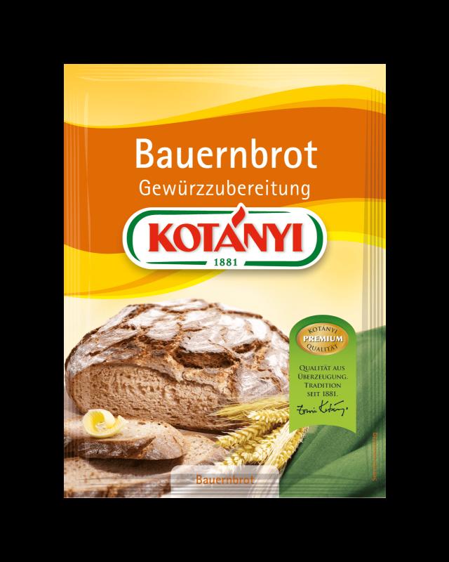 Kotányi Bauernbrot Gewürzzubereitung im Brief