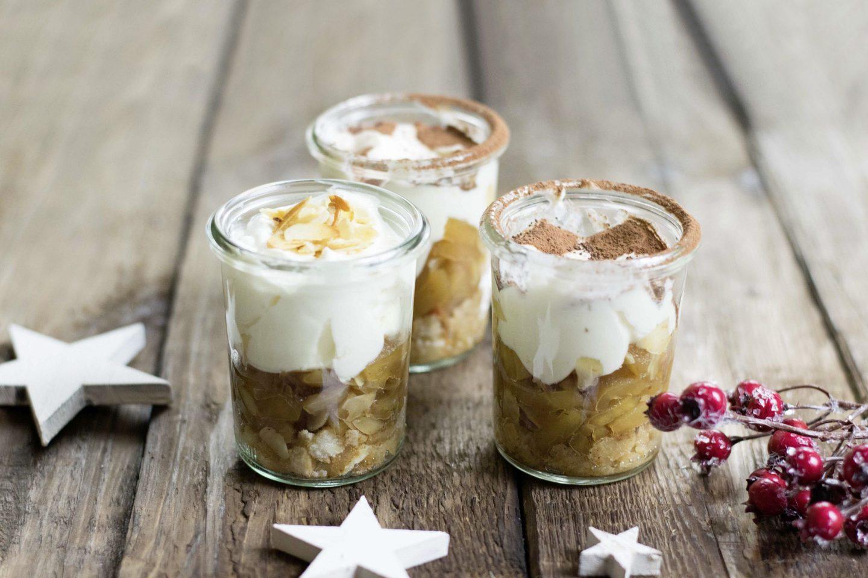 Lebkuchen-Bratapfel Tiramisu
