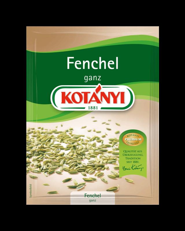 Kotányi Fenchel ganz im Brief