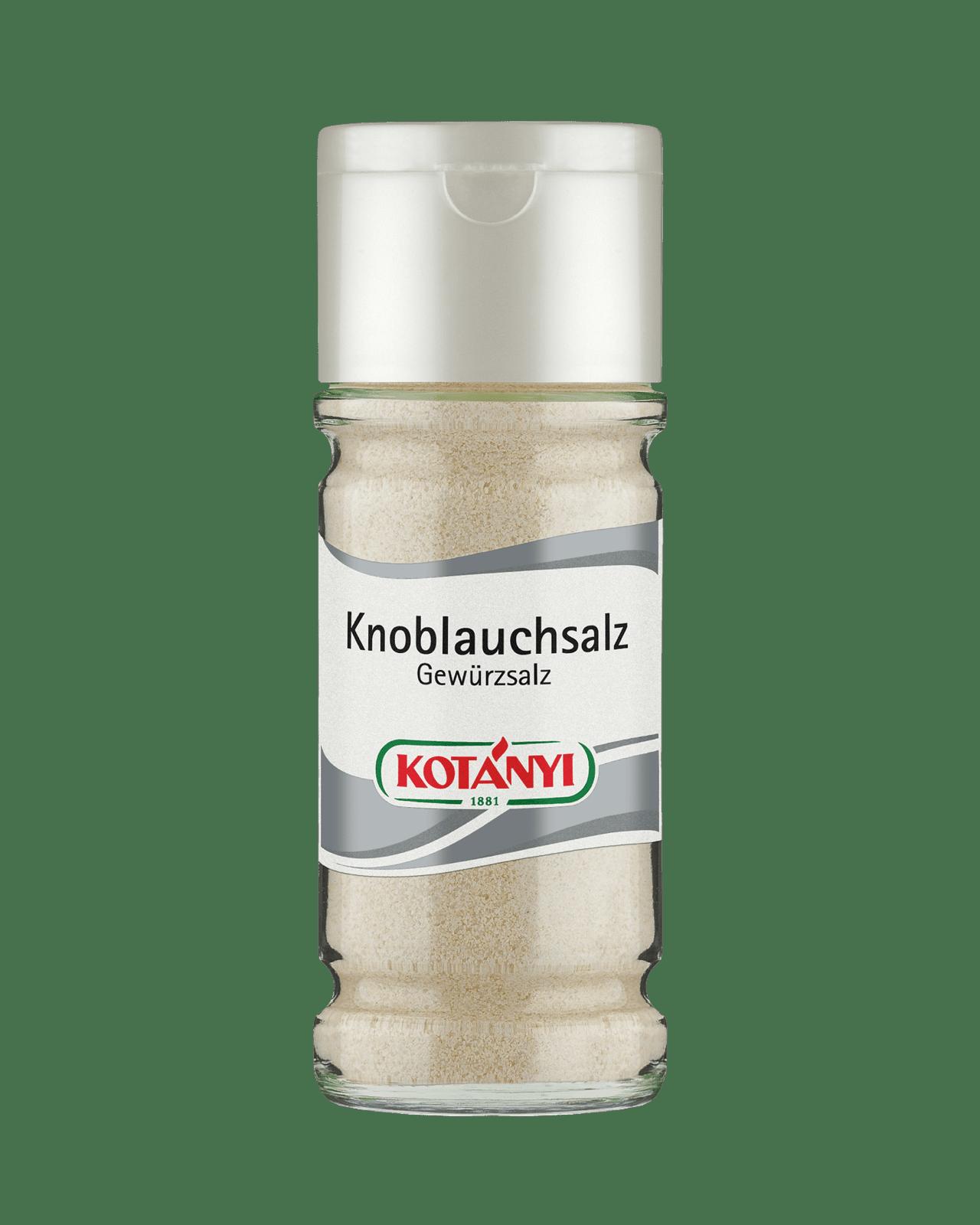Kotányi Knoblauchsalz im 100ml Glas