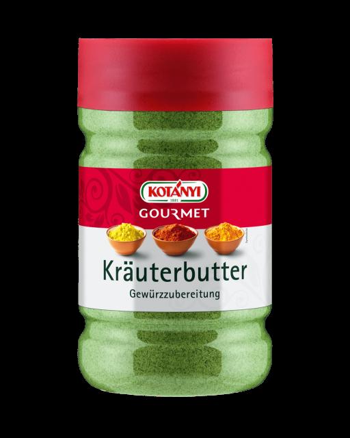 Kotányi Gourmet Kräuterbutter Gewürzzubereitung in der 1200ccm Dose