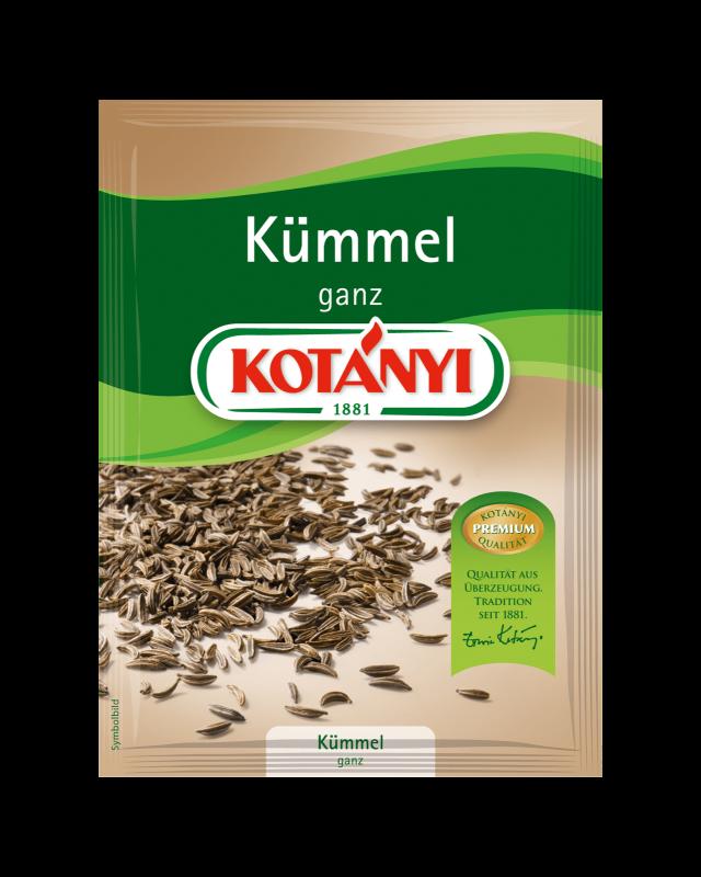 Kotányi Kümmel ganz im Brief