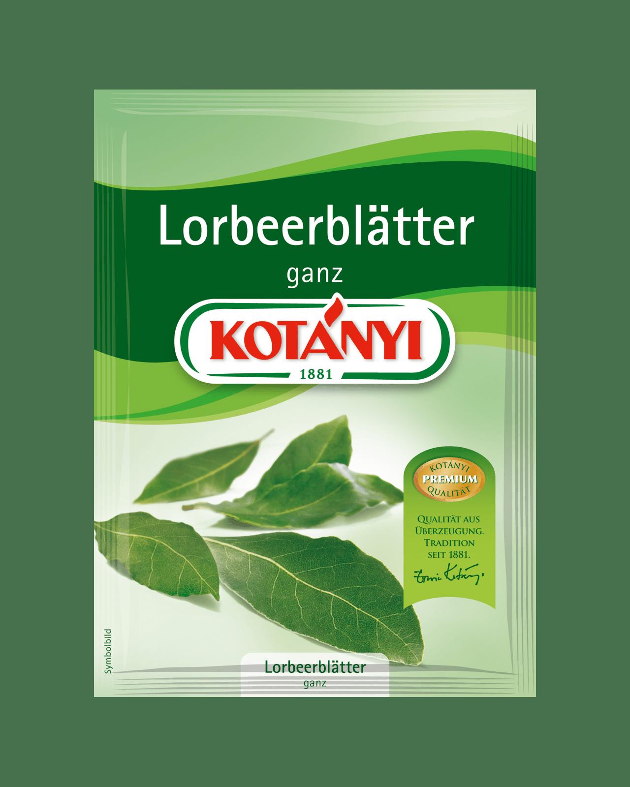 Kotányi Lorbeerblätter ganz im Brief