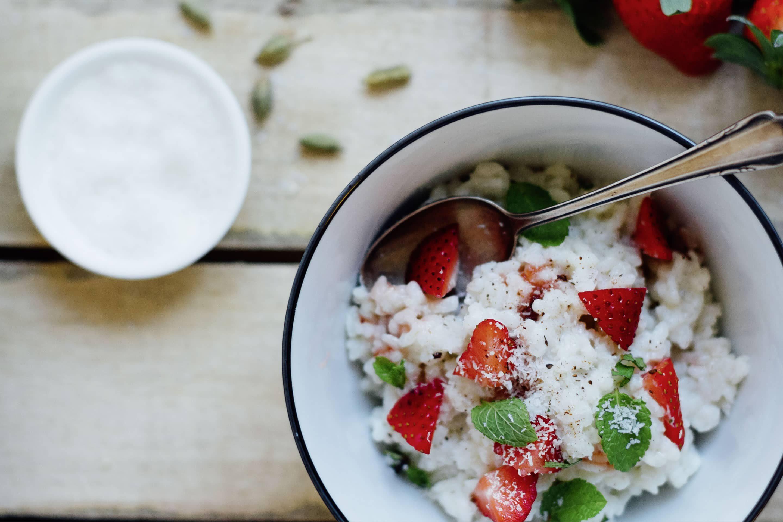 Cardamom and Coconut Milk Rice Pudding — Recipe | Kotányi