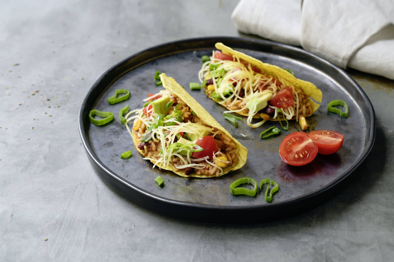 Vegetarische Tacos mit VEGGY Hot+Spicy