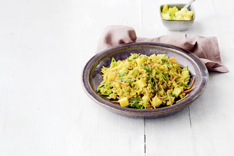 VEGGY Exotic Reissalat mit Mango