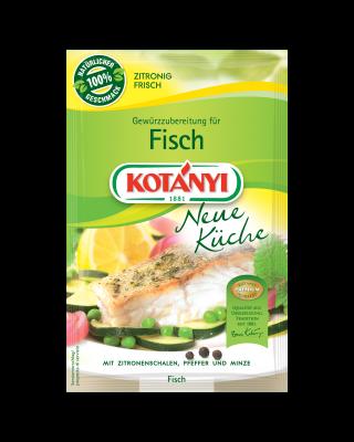 Kotányi Gewürzzubereitung für Fisch im Brief