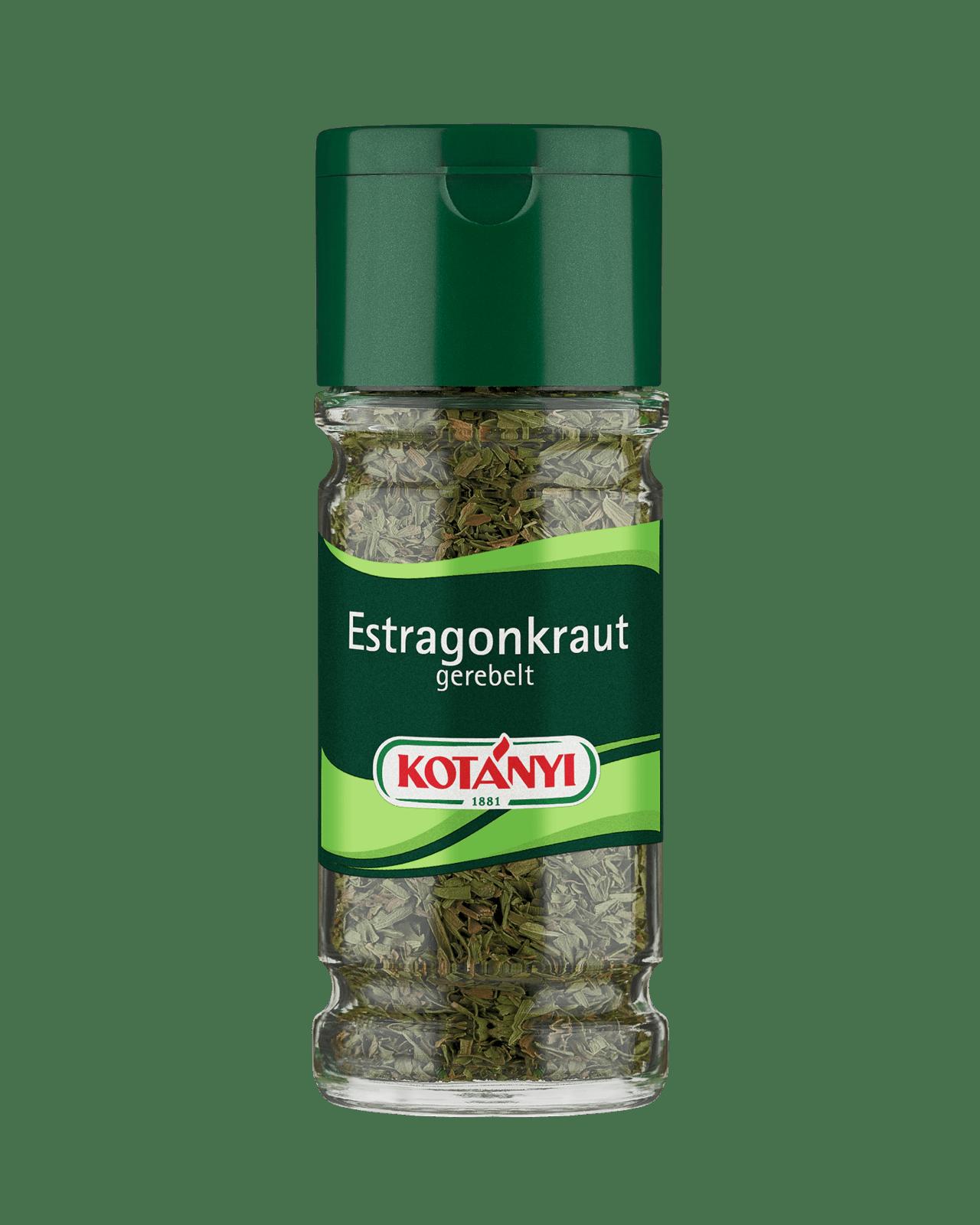 Kotányi Estragonkraut gerebelt im 100ml Glas